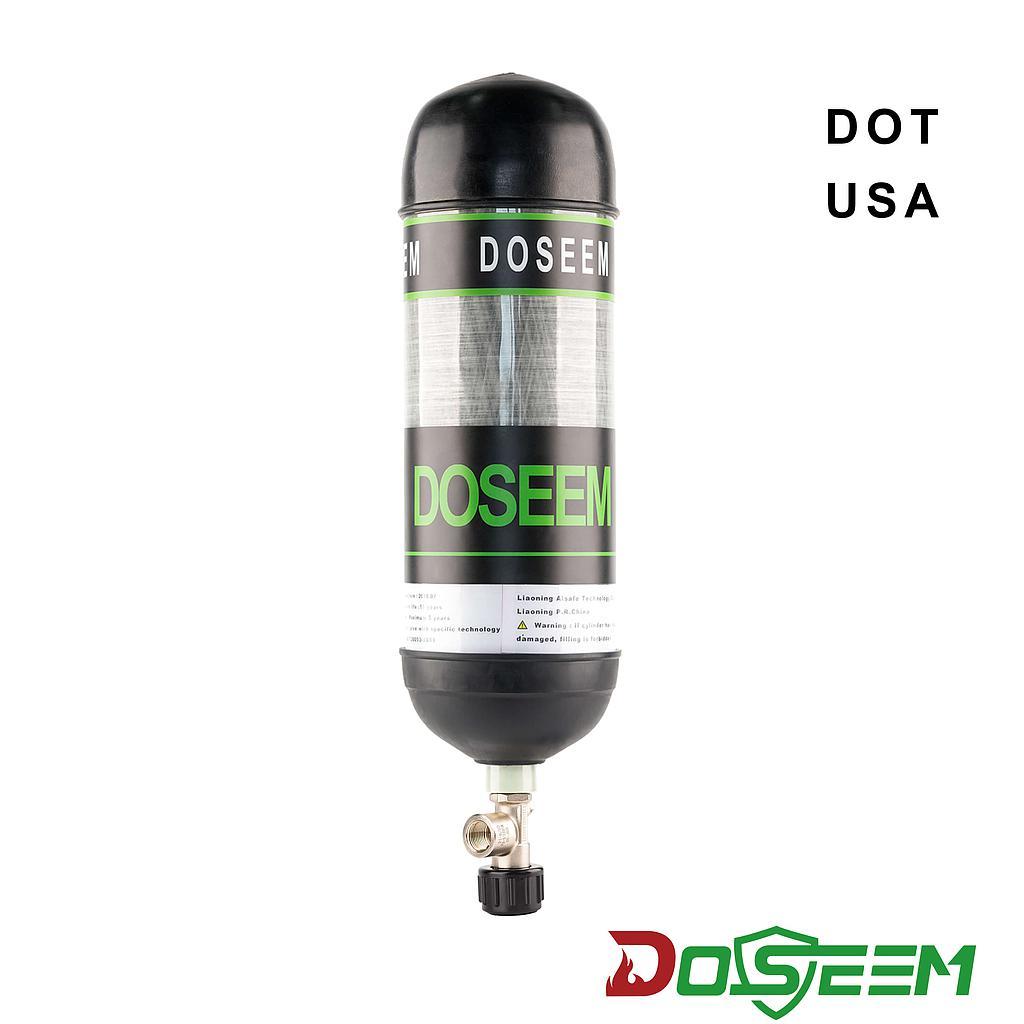 DOSEEM 6.8L Air cylinder (DOT) & Self-locking cylinder valve KHF-30