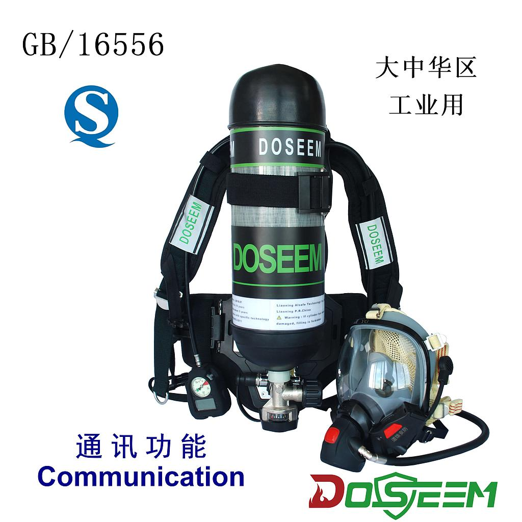 DOSEEM SCBA DS-RHZKF9CT (GB)